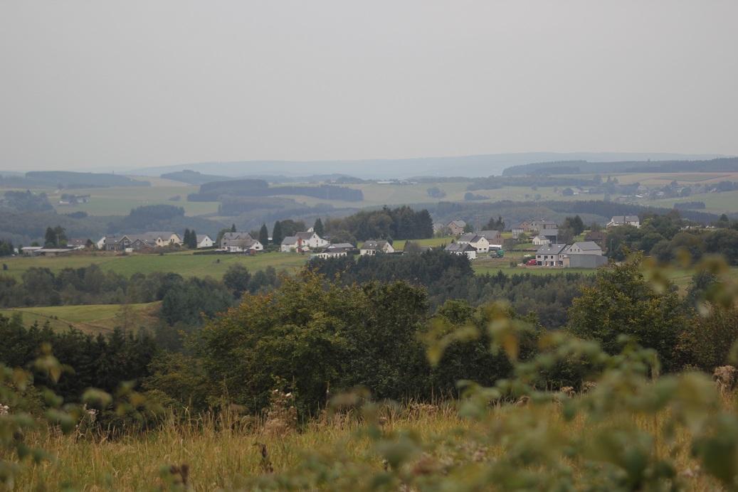 """Het dorpje Nadrin vanaf één """"Belveder"""""""